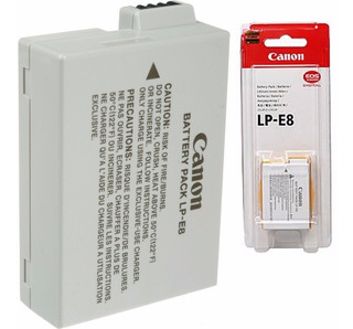 Bateria Canon Lp-e8 T2i T3i T4i T5i Eos 550d 600d 650d 700d