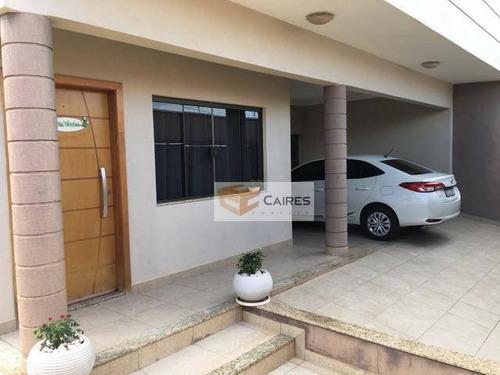 Casa Com 3 Dormitórios À Venda, 180 M² Por R$ 650.000,00 - Jardim Residencial Ravagnani - Sumaré/sp - Ca3110