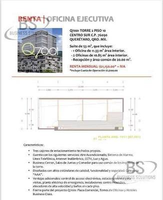 Ti/d Oficina Renta Centro Sur Q7001 Querétaro
