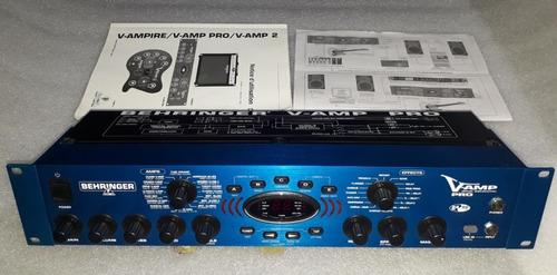 Imagen 1 de 10 de Procesador Efectos Simulador Behringer V-amp Pro Guitarra