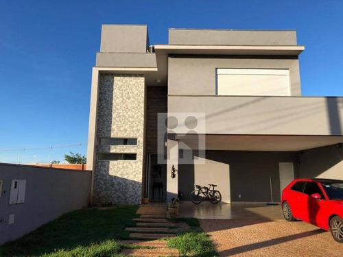 Imagem 1 de 24 de Casa Com 3 Dormitórios À Venda, 205 M² Por R$ 850.000,00 - Bonfim Paulista - Ribeirão Preto/sp - Ca0836