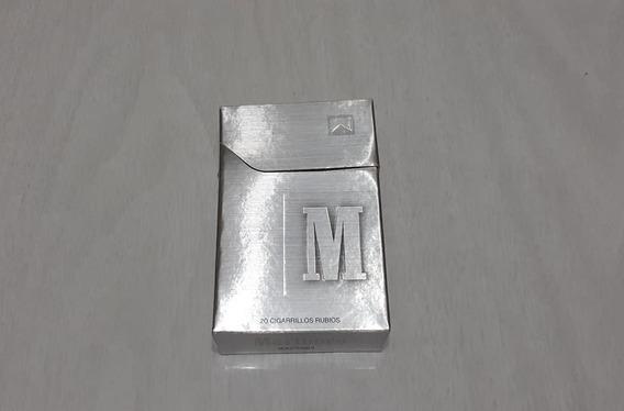 Caja 20 Cigarrillos Vacia Marlboro Box Plata Limitado Arg.