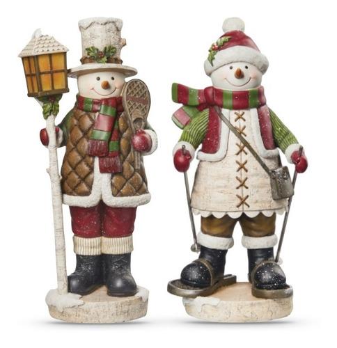 Figuras Retro Monos De Nieve Excelente Calidad Y Detalle 2pz