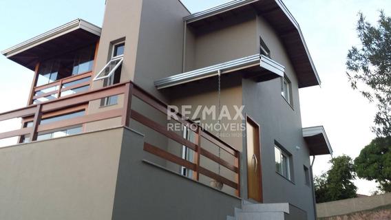 Casa Com 3 Dormitórios Para Alugar, 187 M² Por R$ 5.000/mês - Condominio Vista Alegre (cafe) - Vinhedo - Vista Privilegiada - Ca6527