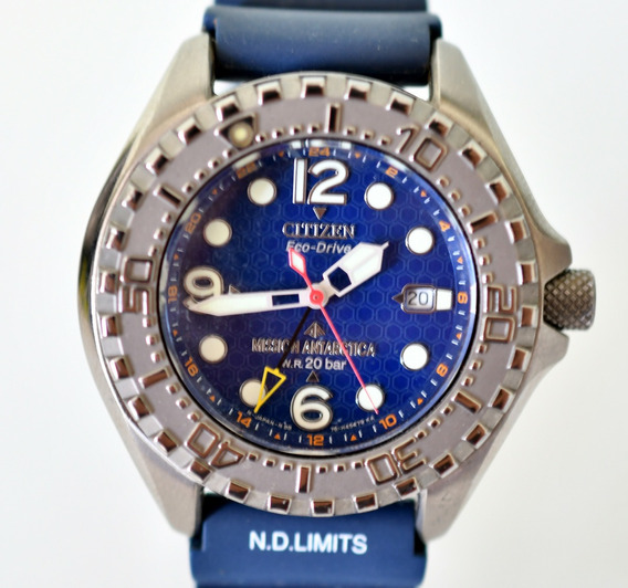 Relógio Citizen - Mission Antarctica - Eco-drive - Ed. Limit