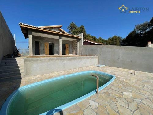 Imagem 1 de 8 de Chácara Com 2 Dormitórios À Venda, 207 M² Por R$ 390.000,00 - Maracanã - Jarinu/sp - Ch1465