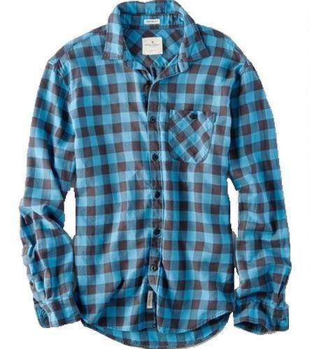 S - Camisa American Eagle Cuadros C29ae Ropa Hombre Original