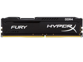 Memória Kingston Hyperx Fury De 16gb 2666mhz Ddr4 - Preto