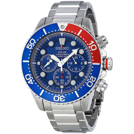Relógio Seiko Solar Diver Ssc019