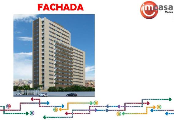 Apartamento Na Mooca 43 M² Com Vaga E Sacada Minha Casa Minha Vida, Lazer Completo Apartamento Zona Leste