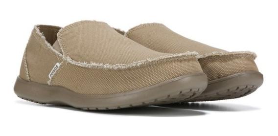 Crocs Santa Cruz Luxe Khaki Hombre Dxt Envios Gratis