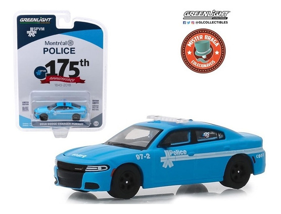 Dodge Charger Pursuit Anniversary 175th S8 Greenlight 1/64