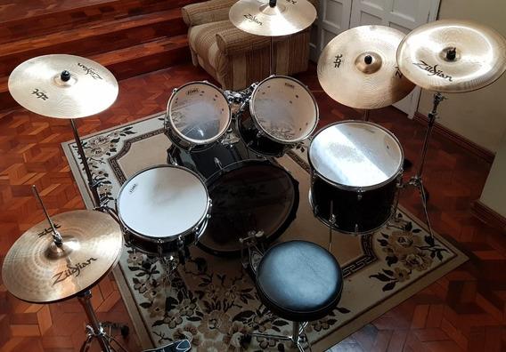 Batería Musical Excelente Estado Ideal Para Banda Musical