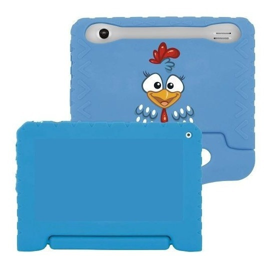 Case Para Tablet 7 Emborrachada Infantil Multilaser Pr930