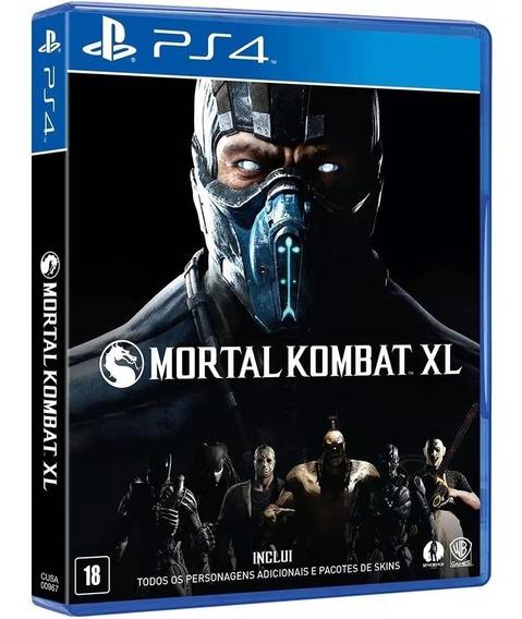 Mortal Kombat Xl Ps4 Mídia Física Nacional Lacrado Rj