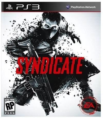 Jogo Syndicate - Ps3 - Mídia Física Lacrado - Game Raro