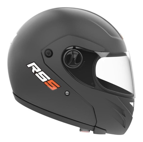 Casco para moto rebatible Hawk RS5 negro mate talle M