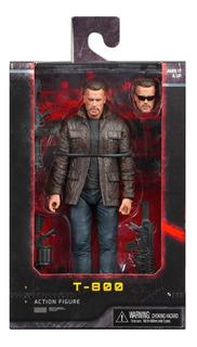Neca T-800 Terminator Dark Fate T800 Figura Muñeco Juguete