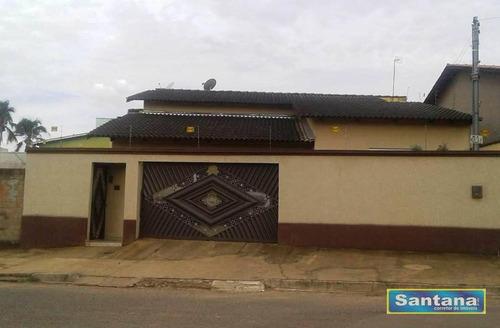 Casa Com 3 Dormitórios À Venda, 160 M² Por R$ 280.000,00 - Estancia Itaguai - Caldas Novas/go - Ca0066