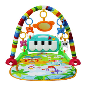 Tapete De Atividades Musical Mobile Piano Infantil Bebe
