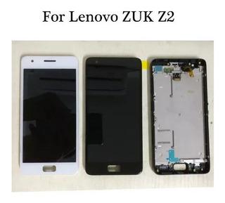 Lcd Touch Fronta Zuk Z2 Plus Completa Original Novo