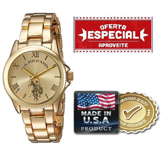 Relógio Feminino U.s Polo Assn. Original Usc4003