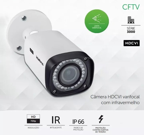 Câmera Varifocal Multi Hd Infra Vhd 3140 Vf G4 Intelbras