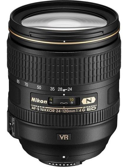 Lente Nikon 24-120mm F/4g Ed Af-s Vr Nota Fiscal