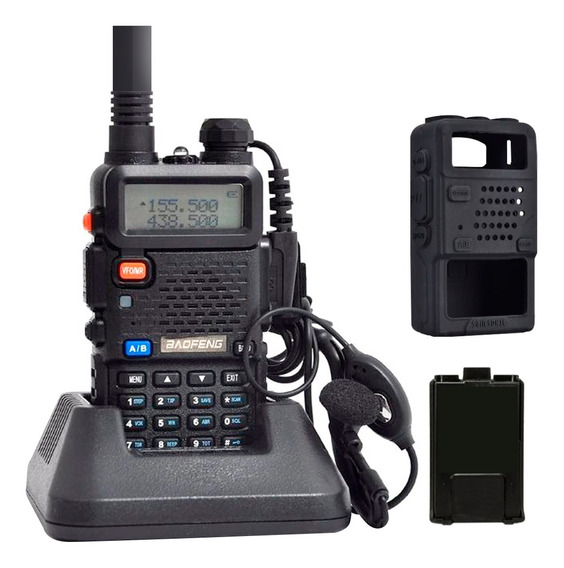 Handy Baofeng Uv5r 8 Watts Canales Recargable + Potencia