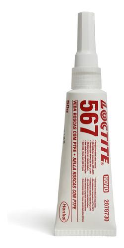 Adesivo Veda Rosca Liquido 567 50g Loctite