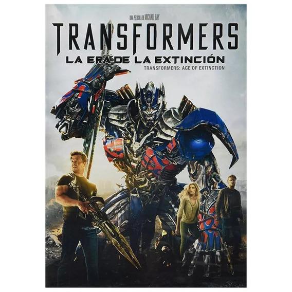 Transformers La Era De La Extinción Dinosaurio Dvd Envío
