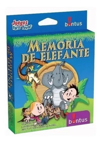 Memoria De Elefante Cartas Juego De Bolsillo- Sharif Express