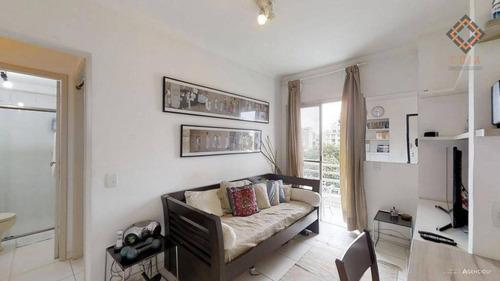 Apartamento Com 1 Dormitório À Venda, 36 M² Por R$ 369.000,00 - Bela Vista - São Paulo/sp - Ap42462