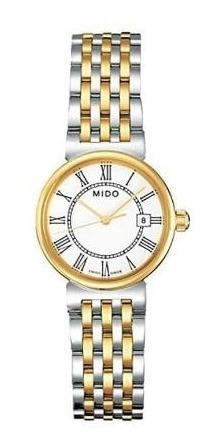 Reloj Mido Dama Plateado