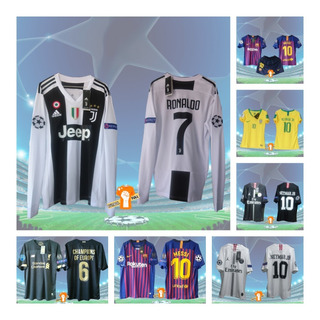 Camisetas De Fútbol 2019-2020, Liverpool Juventus Barcelona