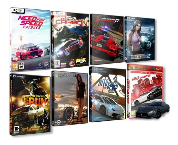 Mega Combo Need For Speed 8 Jogos Completos Em Mídia Física