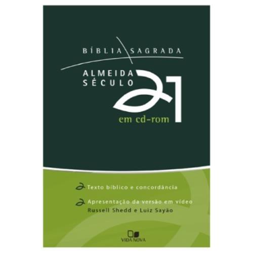 Bíblia Sagrada Almeida Século 21 Em Cd-rom