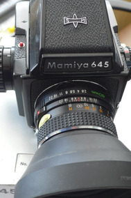 Camera Analogica Medio Formato Mamya M645j 120mm