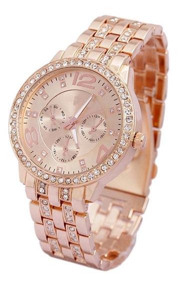 Relógio Feminino Original Importado Promoção Luxo Analógico