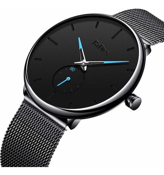 Relógio De Quartzo Ultra-fino Biden