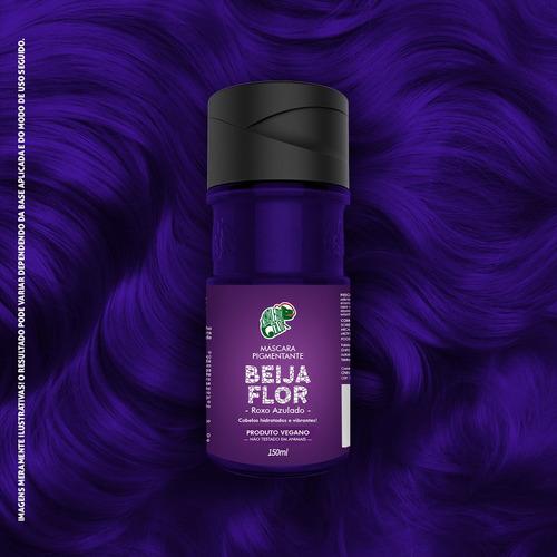 Tinta Beija Flor Roxo Azulado 150ml Kamaleão K14547