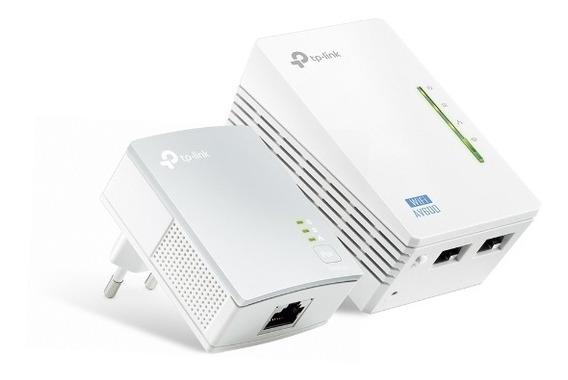 Powerline Wi-fi 300mbps Av500 Kit Tp-link Tl-wpa4220 Kit