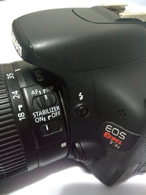 Camera T3i + Lente 18-55 + 3 Baterias