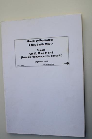 Manual Catalogo New Beetle Chassi Eixos Direçao Freios Etc