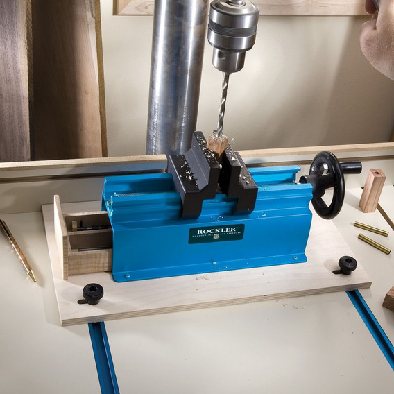 Prensa De Pluma Y Plantilla -rockler Pen Press/drilling Jig