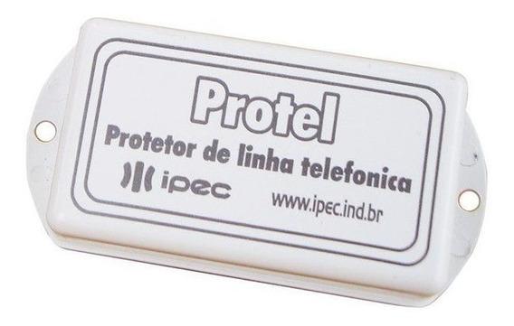 Módulo Protetor Surtos Modem Alarme Linha Telefônica Ipec