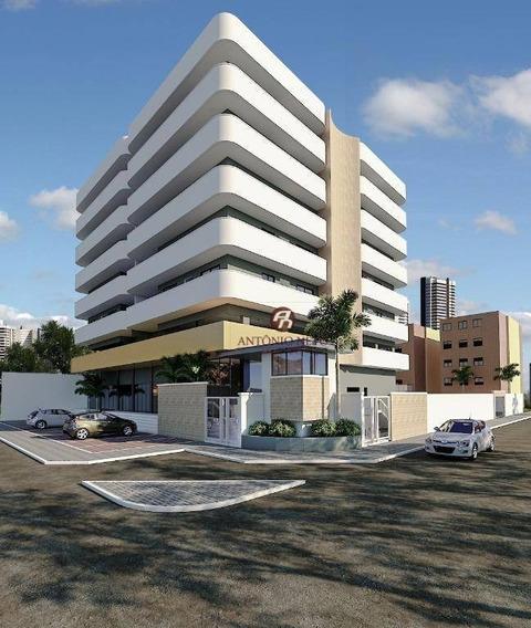Apartamento Com 4 Dormitórios À Venda, 166 M² E Área De Lazer Completa Por R$ 380.000 - São Gerardo - Fortaleza/ce - Ap0433