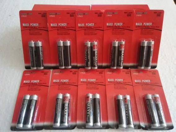 Baterias Aaa Max Power Alcalinas El Paquete De 10pares