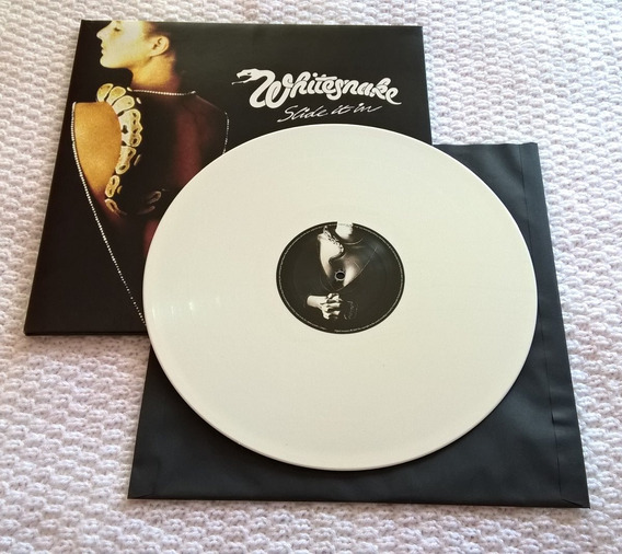 Lp Whitesnake Slide It In Branco Gatefold Bonus Track Lacrad