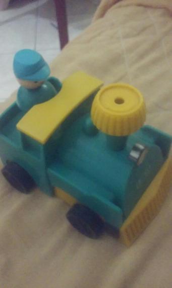 Brinquedo Trem Trenzinho A Corda Sanyo
